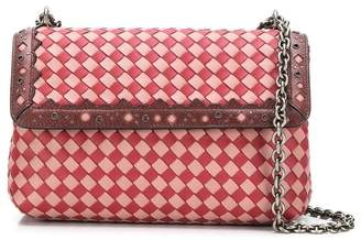 Bottega Veneta Olimpia shoulder bag in Intrecciato check