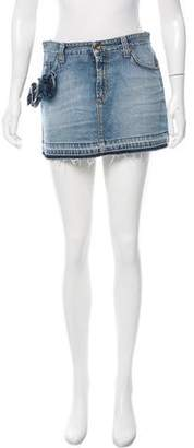 Dolce & Gabbana Denim Mini Skirt