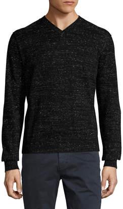Toscano V-Neck Long Sleeve Sweater