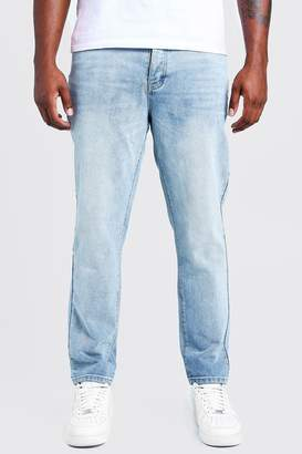 boohoo Big & Tall Slim Fit Rigid Jean
