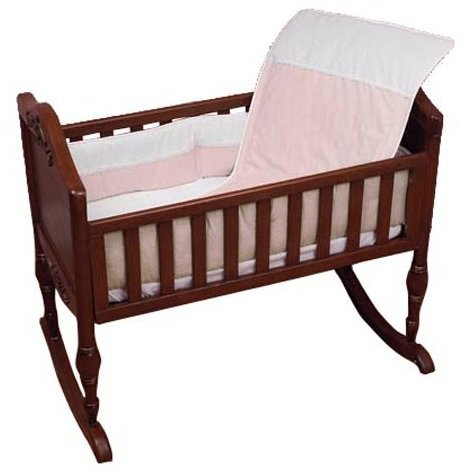 Baby Doll Bedding Kingdom Crib Bedding Set - Pink