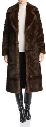 M·A·C Unreal Fur The Long Mac Faux Fur Coat