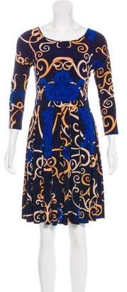 Tibi Digital Print Mini Dress