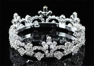 Exquisite Form Exquisite Rhinestones Crystal Photo Prop Newborn Baby Tiara Crown