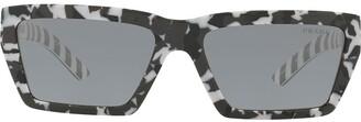 Prada Disguise camouflage sunglasses