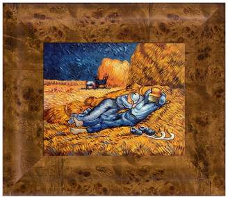 Noon: Rest From Work Framed Painting by Vincent Van Gogh