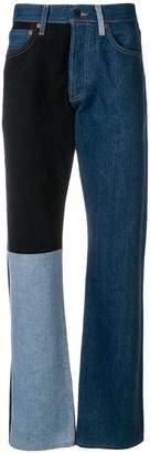 Gosha Rubchinskiy X LEVI'S panelled straight-leg jeans
