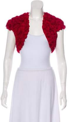 Phoebe Couture Textured Crop Jacket