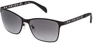 Tous Women's STO333-0531 Sunglasses, (Semi/Matt Black)
