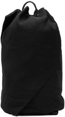 Yohji Yamamoto drawstring backpack