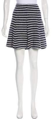 Theory Striped Knee-Length Skirt