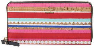 Kate Spade Geometric Long Wallet