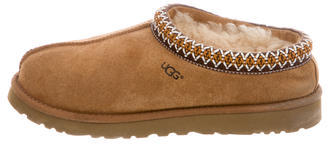 UGGUGG Australia Shearling-Lined Suede Slippers