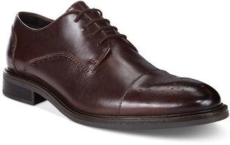 Alfani Men's Paul Leather Cap Toe Derbys, Only at Macy's $99.99 thestylecure.com