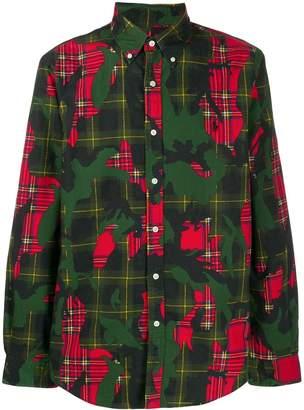 Polo Ralph Lauren camouflage plaid shirt