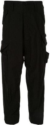 Julius cropped cargo trousers