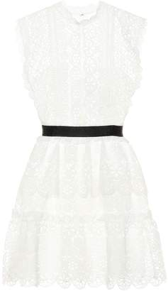 Self-Portrait Self Portrait Broderie anglaise dress