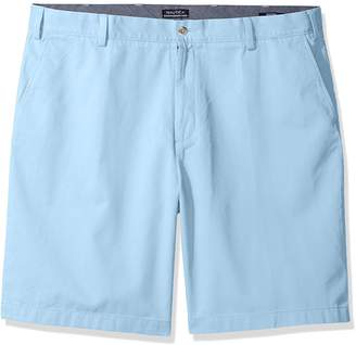 Nautica Men's Twill Flat Front Short