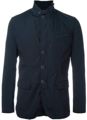 Herno buttoned collar blazer