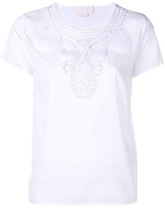 Genny embroidered detail T-shirt