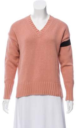 360 Cashmere Barbara V-Neck Sweater w/ Tags Pink Barbara V-Neck Sweater w/ Tags