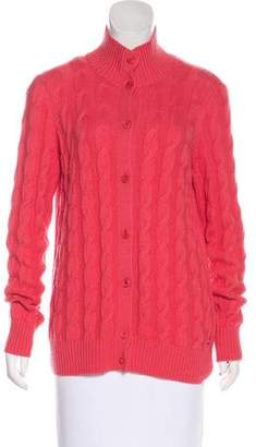 Loro Piana Cable Knit Cashmere Sweater