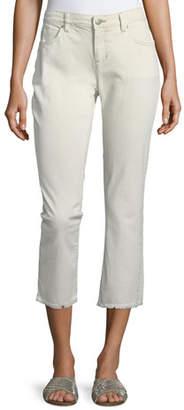 Eileen Fisher Stretch Organic Cotton Boyfriend Jeans, Plus Size