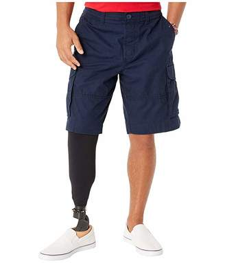 Tommy Hilfiger Adaptive Cargo Shorts with Adjustable Waist and Magnet Buttons