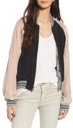 Women's Zadig & Voltaire Billy Circus Reversible Bomber Jacket $538 thestylecure.com