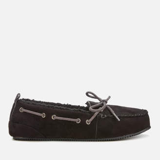 f4dfbcdabfee Superdry Men s Clinton Moccasin Slippers - Black