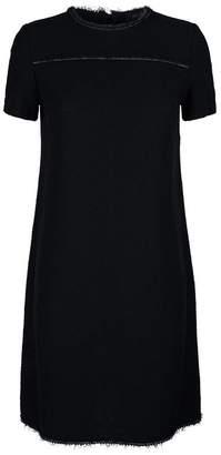 St. John Chain Trim Dress