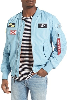 Alpha Industries L-2B Flex Reversible Flight Jacket $150 thestylecure.com