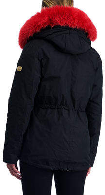 Gorski Apres-Ski Down-Fill Parka with Fox Trim Hood