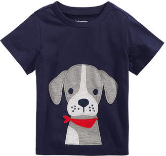 First Impressions Toddler Boys Dog-Print Cotton T-Shirt