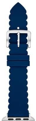 Kate Spade Blue Scalloped Apple Watch Strap, 38mm