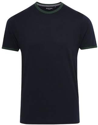 Brave Soul Mens Tallon Contrast Hem Crew Neck T-Shirt (XL)