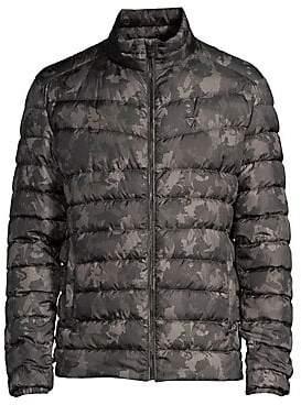 Strellson Men's Slim-Fit Camo Puffer Jacket
