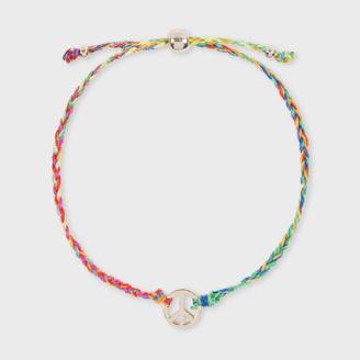 Women's 'Peace Sign' Friendship Bracelet $95 thestylecure.com