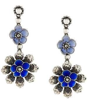 Bottega Veneta floral earrings