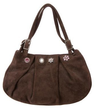 Moschino Moschino Vegan Suede Bag