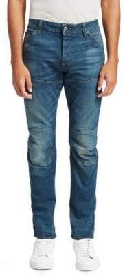 G Star Skinny-Fit Whiskered Jeans