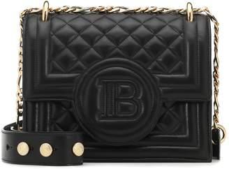 Balmain B-Bag 21 quilted leather shoulder bag