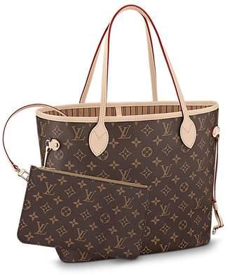7716494339c2 Louis Vuitton Neverfull GM Monogram Canvas Handbag Shoulder Bag Tote Purse