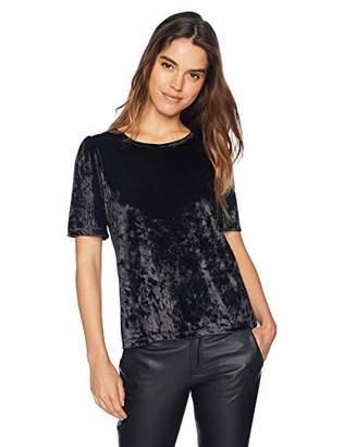 Lucky Brand Women's Velvet TOP Black