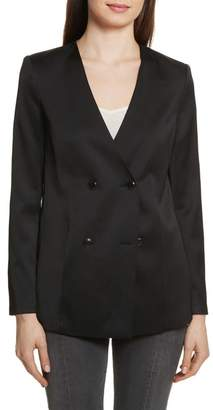 Frame Double-Breasted Blazer