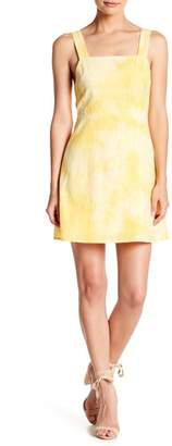 Wild Honey Tie Dye Back Tie Skater Dress