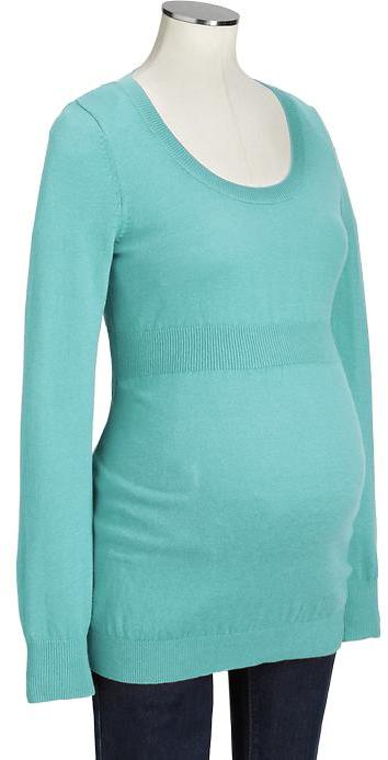 Old Navy Maternity Scoop-Neck Softest Sweaters