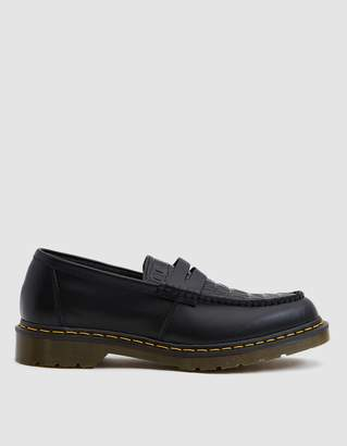 Dr. Martens x Stussy Penton Loafer in Black