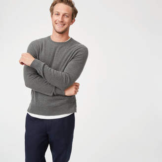 Club Monaco Cashmere Button Crew