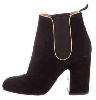 Laurence Dacade Suede Round-Toe Boots